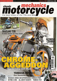 Press - Classic Motorcycle Restoration : JMC Egli Vincent